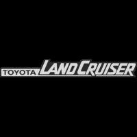 Sticker TOYOTA Land Cruiser