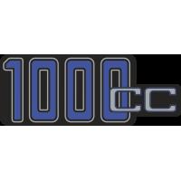 Sticker BMW 1000CC BLEU