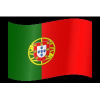 Autocollant Drapeau Portugal 2