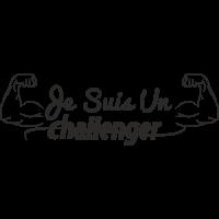 Sticker Je suis un Challenger
