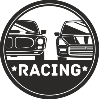 Sticker Déco Baril Racing 4