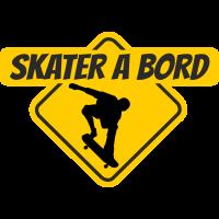 Skater à bord