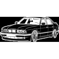 Sticker BMW Car