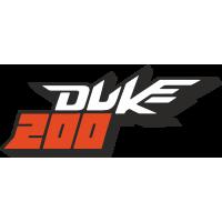 Sticker KTM 200 Duke Couleur