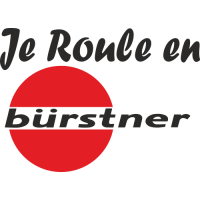 Sticker Je roule en Burstner