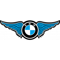 Autocollant Logo Bmw Ailes