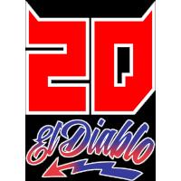 Sticker Fabio Quartararo 20