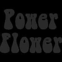 Sticker Power Flower