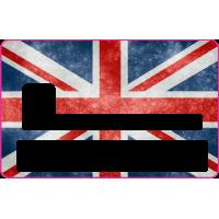 Sticker CB Grande Bretagne - Skin pour Carte Bancaire