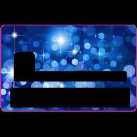Sticker CB Abstrait - Skin pour Carte Bancaire