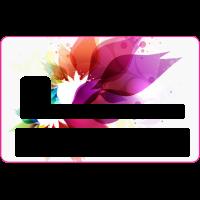 Sticker CB Abstrait - Skin pour Carte Bancaire 2