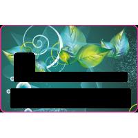 Sticker CB Abstrait - Skin pour Carte Bancaire 3