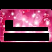 Sticker CB Abstrait - Skin pour Carte Bancaire 8