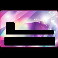 Sticker CB Abstrait - Skin pour Carte Bancaire 9