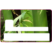 Sticker CB Bambou - Skin pour Carte Bancaire