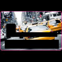 Sticker CB Taxi USA - Skin pour Carte Bancaire