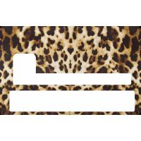 Sticker Cb Panthère - Skin Pour Carte Bancaire