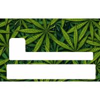 Sticker Cb Cannabis - Skin Pour Carte Bancaire