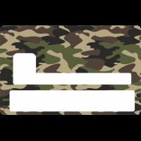 Sticker Cb Armée - Skin Pour Carte Bancaire