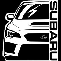 Sticker SUBARU Car 3