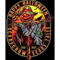 Stickers Halloween Épouventail