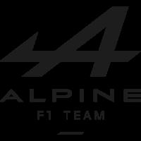 Sticker Alpine f1 team