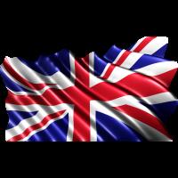 Autocollant Drapeau Grande Bretagne