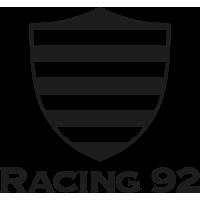 Sticker Rugby Racing 92 Le Club des Hauts-de-Seine 2