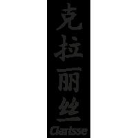 Prenom Chinois Clarisse