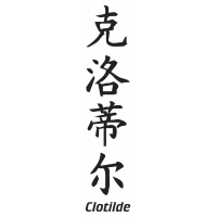 Prenom Chinois Clotilde