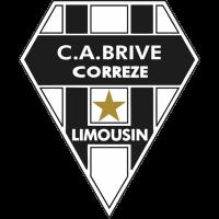 Sticker Rugby C.A Brive Correze Limousin