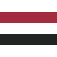 Autocollant Drapeau Yémen
