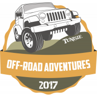 Autocollant 4x4 Off Road Adventures Tunisie