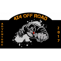 Autocollant 4x4 Off Road Adventure 2017 1