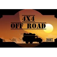 Autocollant 4x4 Off Road 3