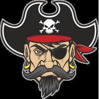 Autocollant Pirate 8