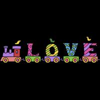 Autocollant Enfant Train 3