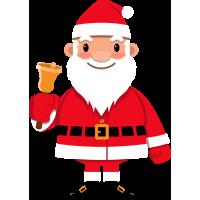 Autocollant Père Noël 1