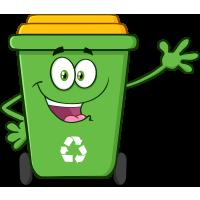 Autocollant Poubelle Respect Environnement Et Recyclage 1