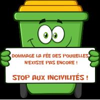 Autocollant Poubelle Respect Environnement Et Recyclage Stop Invicilités 1