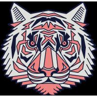 Autocollant Tigre 3