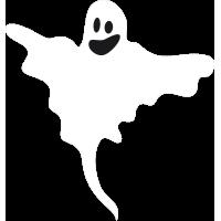 Autocollant Halloween Fantôme 3