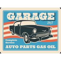 Autocollant Vintage Garage 5
