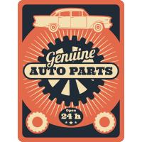 Autocollant Vintage Garage 6