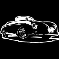 Sticker PORSCHE Car 7