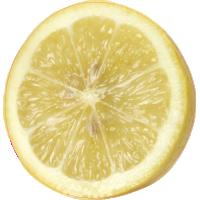Autocollant Fruits et legumes Citron