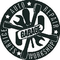 Sticker Déco Baril Auto garage