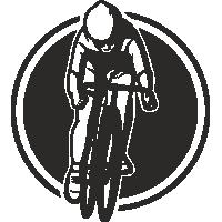 Sticker Déco Baril Vélo 2