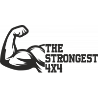 Sticker The strongest 4x4 (Recto)