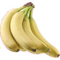 Autocollant Fruits et legumes Bananes